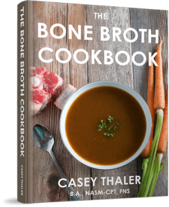 Bone broth cook book